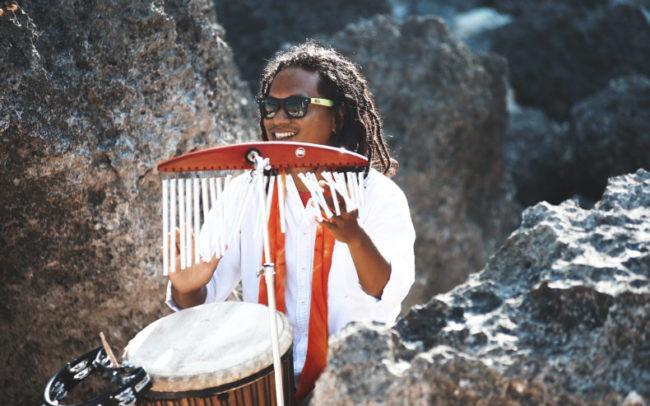 Музыканты на пляже