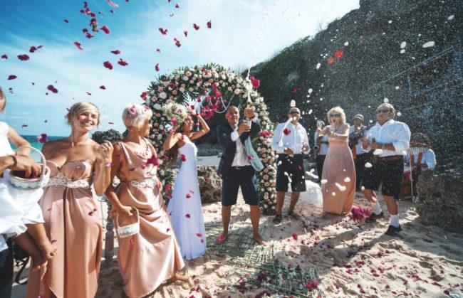 Свадьба на Бали с семьей