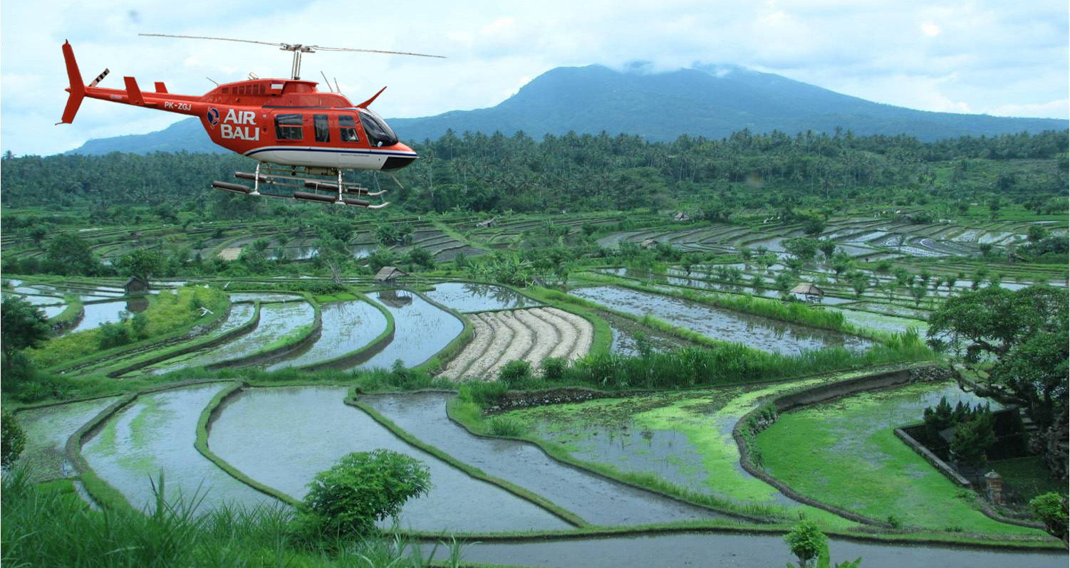 Air Bali вертолет