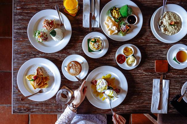 Стоимость романтического ужина на Бали