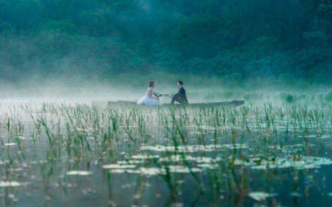 Фотосессия на озерах Бали