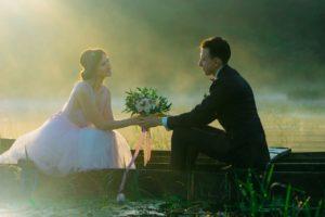 свадебная фотосессия на озерах Бали