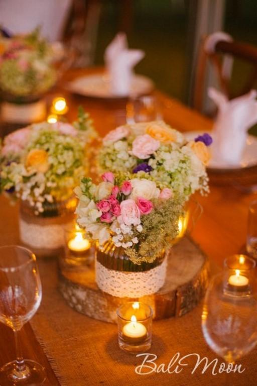 свадьба с гостями на Бали